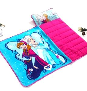 Frozen nap blanket with pillow